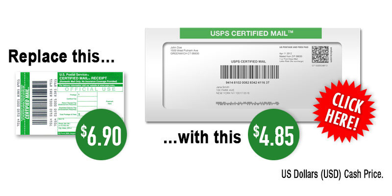 Usps Certified Mail Rates 2021 Certified Mail Labels Costs Certified Mail Labels